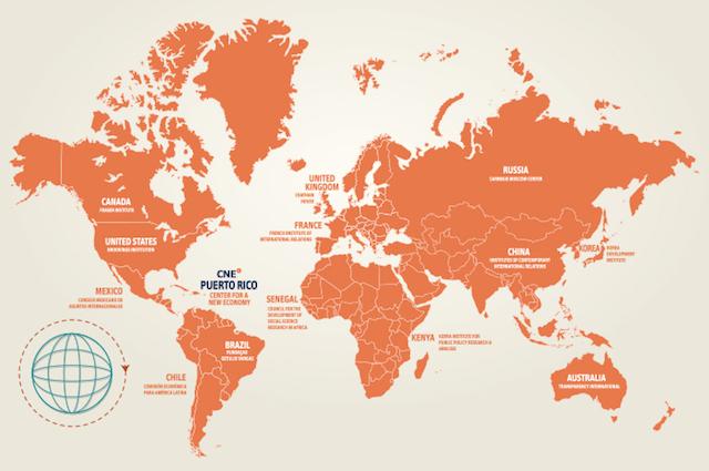 CNE Media Map