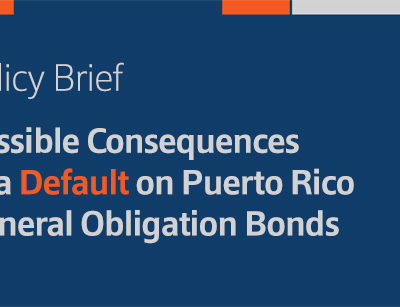 Policy Brief: Possible Consequences of a Default on Puerto Rico General Obligation Bonds