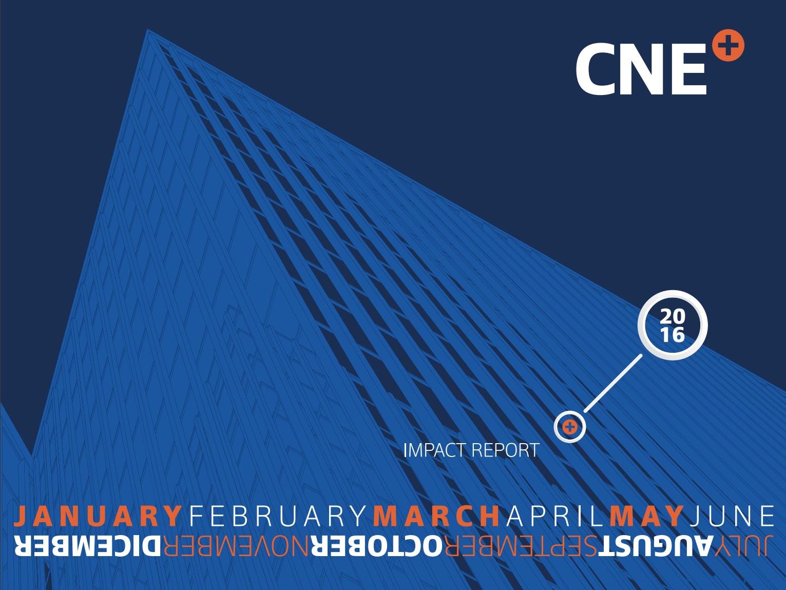 CNE 2016 Annual Report Cover