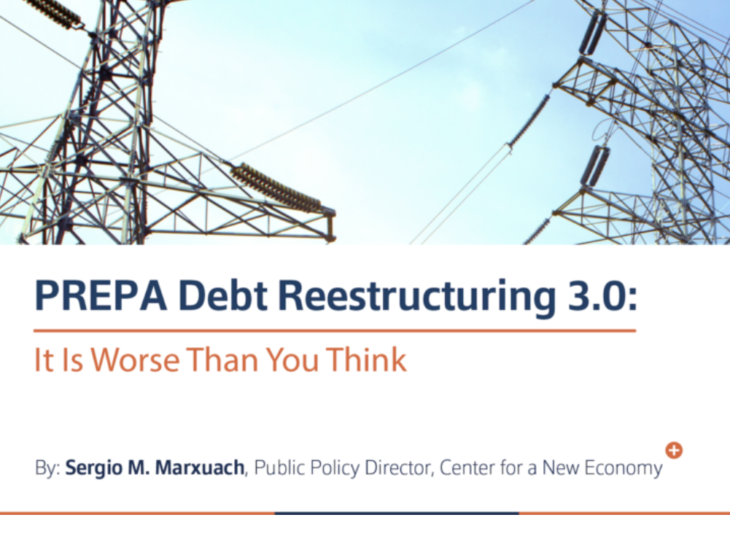CNE Analyzes the New PREPA Restructuring Support Agreement: It is Worse Than You Think