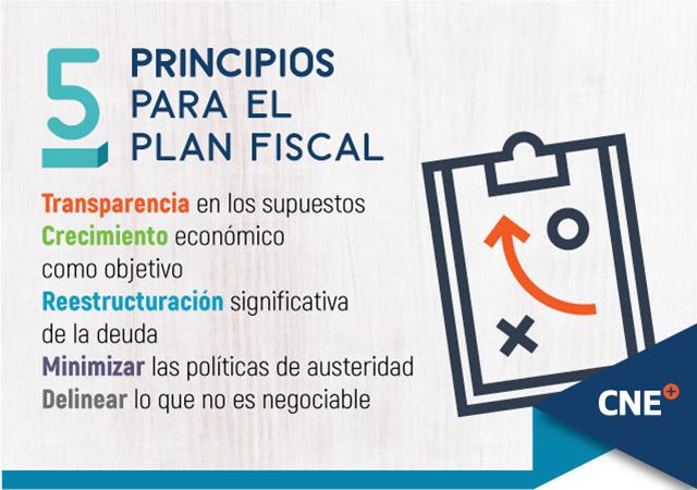5 principios para el plan fiscal