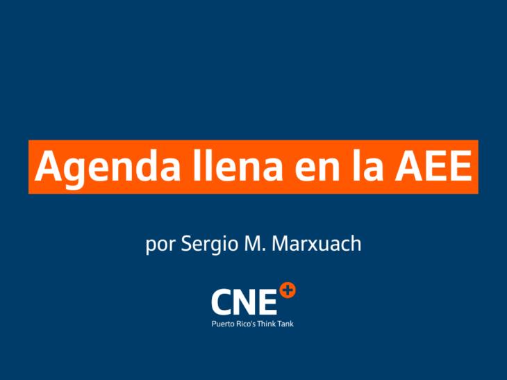 Agenda llena en la AEE