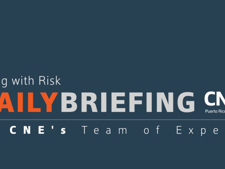 Living with Risk Daily Briefing – April 20
