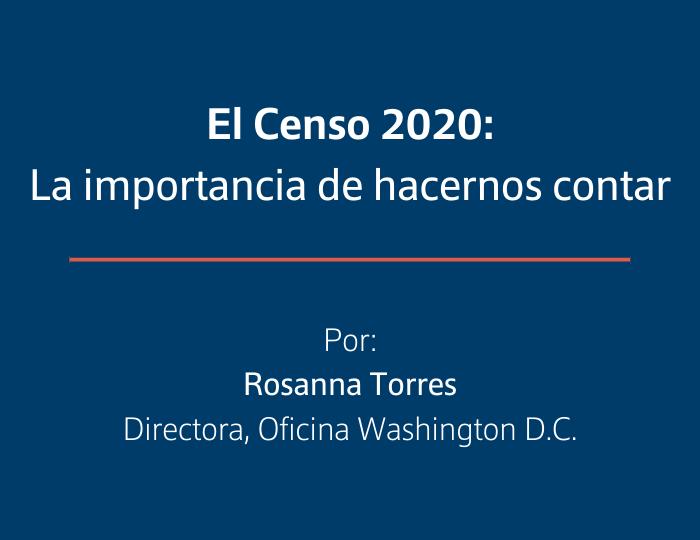 El Censo 2020: la importancia de hacernos contar
