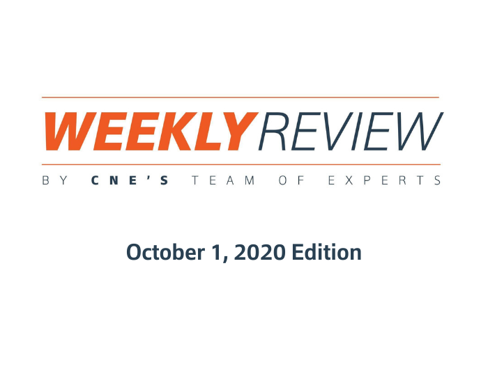 Weekly Review – October 1, 2020