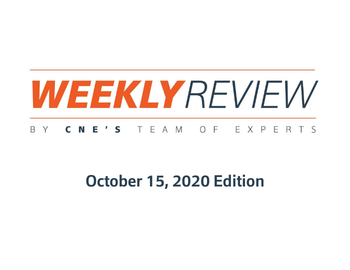 Weekly Review – October 15, 2020