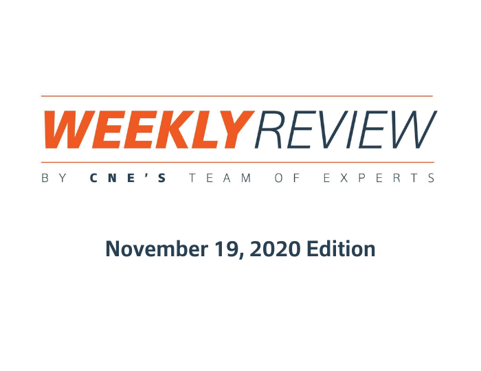 Weekly Review – November 19, 2020