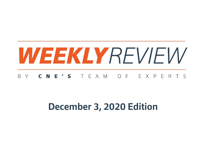 Weekly Review – December 3, 2020