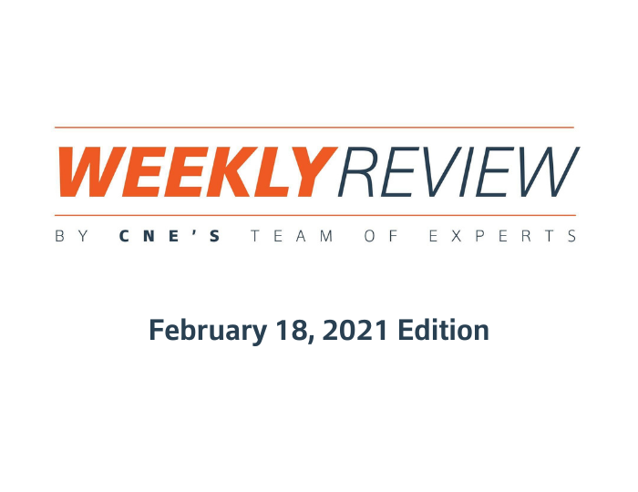 Weekly Review – February 18, 2021