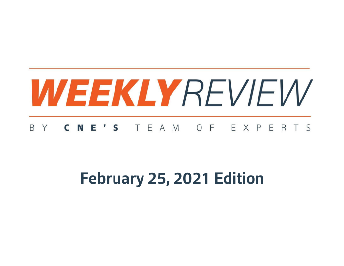 Weekly Review – February 25, 2021