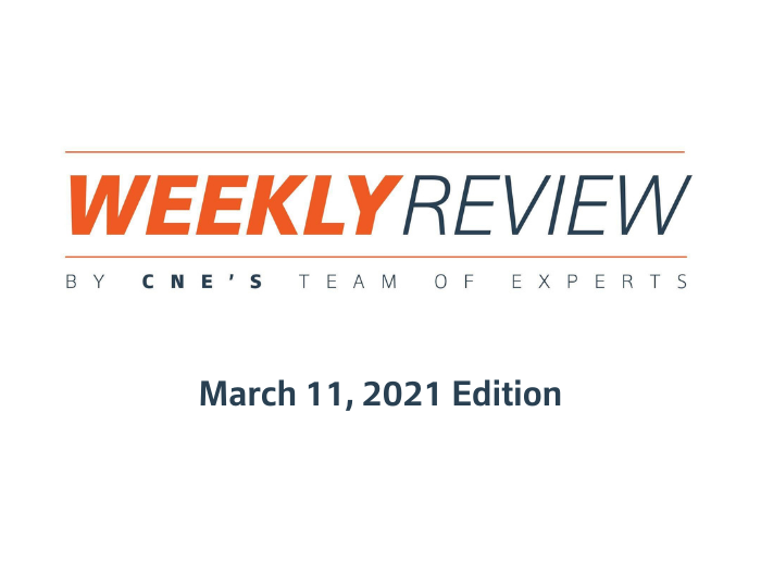 Weekly Review – March 11, 2021