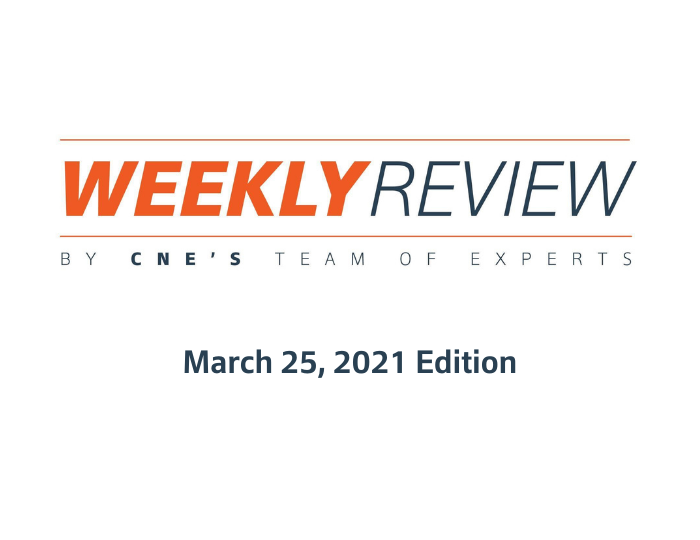 Weekly Review – March 25, 2021