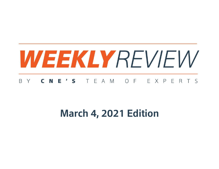 Weekly Review – March 4, 2021