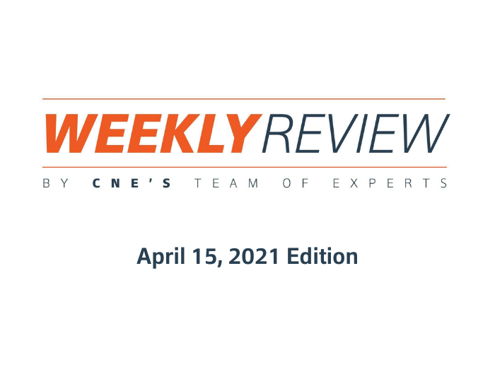 Weekly Review – April 15, 2021